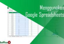 Membuat File Excel Online dengan Google Spreadsheets